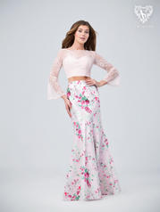 3209RG Print/Pink front