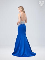 3256RB Royal Blue/Nude back