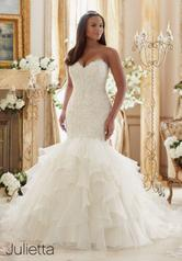 3201 Julietta Plus Size Bridal by Morilee