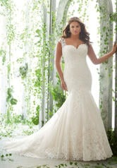 3255 Julietta Plus Size Bridal by Morilee