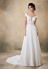 5764 Blu Bridal Collection by Morilee