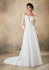 5772 Blu Bridal Collection by Morilee