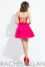 4395 Red/Fuchsia back