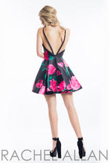 4507 Black/Fuchsia back