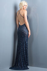 47542 Navy/Nude back