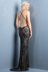 48710 Black/Nude back