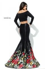 50770 Black/Multi back