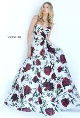 50826 Ivory Print front