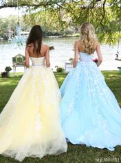 50864 Light Blue/Ivory back