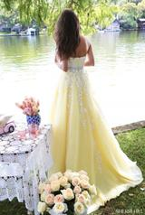 50864 Light Yellow/Ivory back