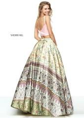 50924 Pink/Yellow Print back
