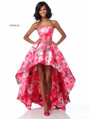 51791 Pink Print front