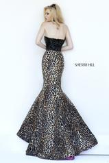 32157 Black/Leopard back