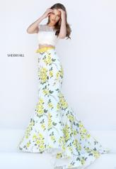 50421 Ivory/Yellow Print other