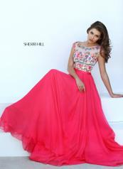 50457 Fuchsia/Multi detail