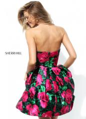 50580 Black/Fuchsia Print back