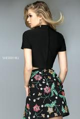 50586 Black/Multi back