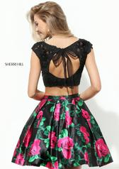 50603 Black/Fuchsia Print back