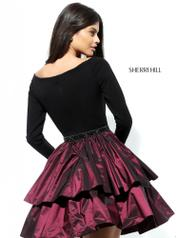 50641 Black/Wine back