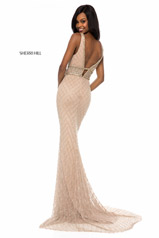51788 Nude/Silver back