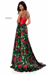 51937 Red/Black Print back