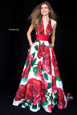 52084 Rose Print front