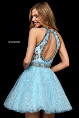 52263 Light Blue/Multi back