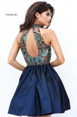 50706 Navy/Multi back