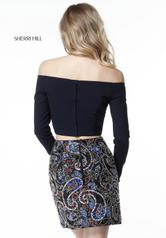 51323 Navy/Multi back