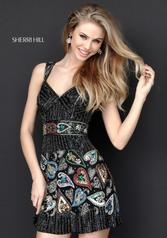 51358 Black/Multi detail