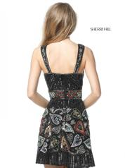 51358 Black/Multi back