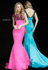 51373 Black/Fuchsia multiple