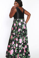 TE1832 Black/Floral back