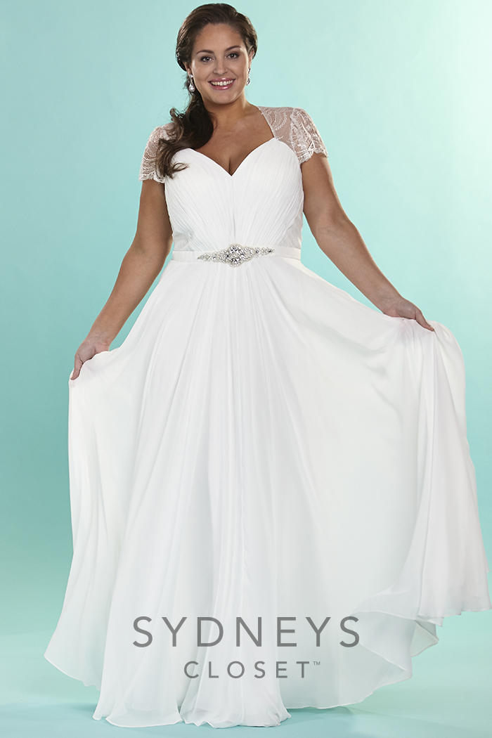 Sydneys Closet Plus Size Bridal Sc5073 Sydneys Closet Signature
