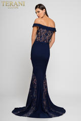 1723E4262 Navy/Nude back