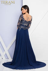 1723M4393 Navy/Nude back