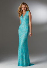 71502 Teal/Nude front