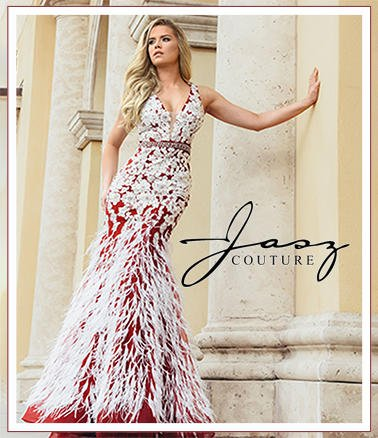 New Hot styles by Jasz Couture in stock for prom 2020