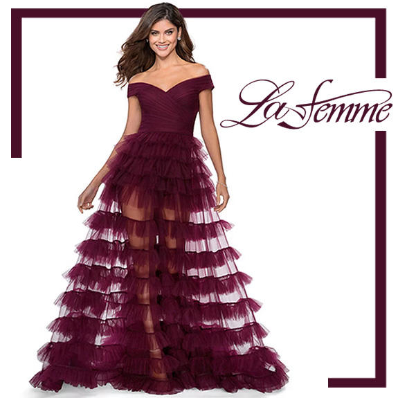 La Femme Prom Dresses 2020 Hottest styles