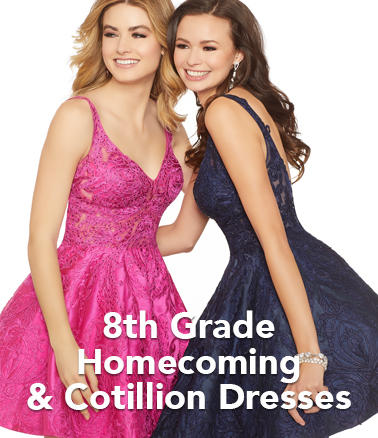 8th Grade Homecoming and Cotillion Dresses