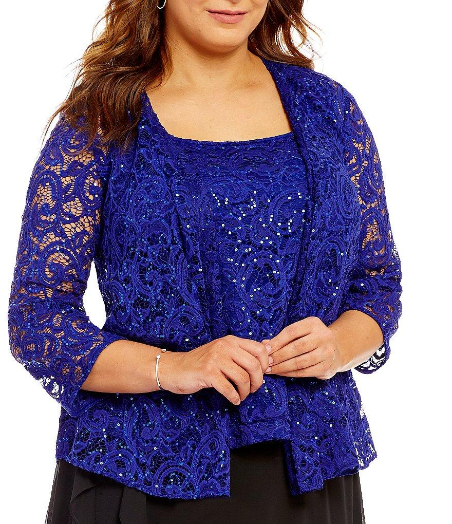 Plus Size Evening Separates
