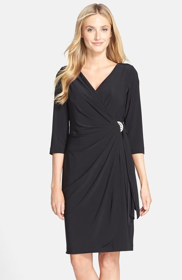 Luxe Collection Plus Size Black Dress