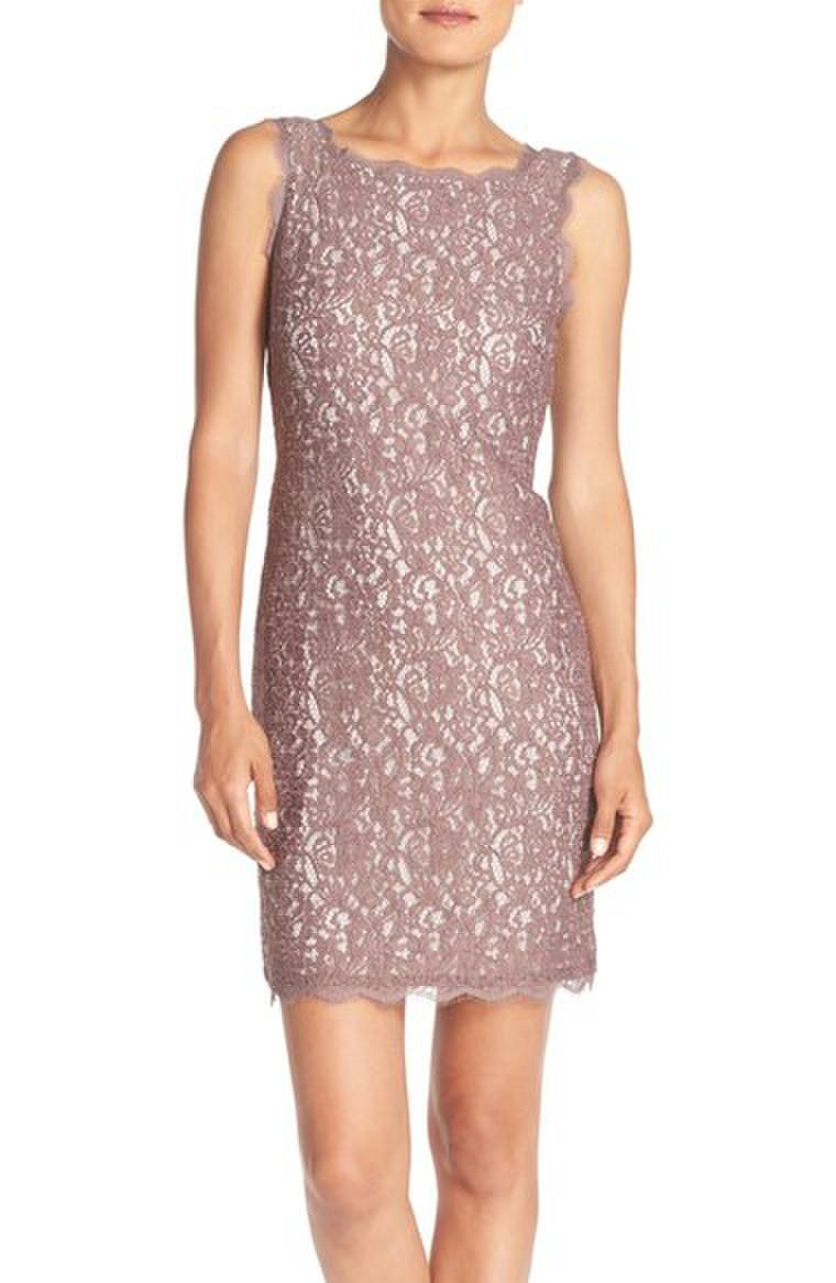Luxe Collection Sleeveless Lace Dress 5474041871750