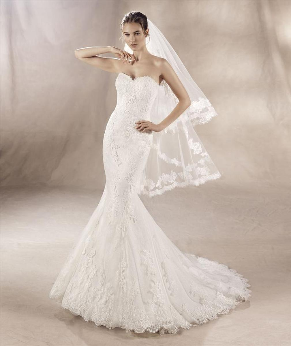 Pronovias White One Yumei
