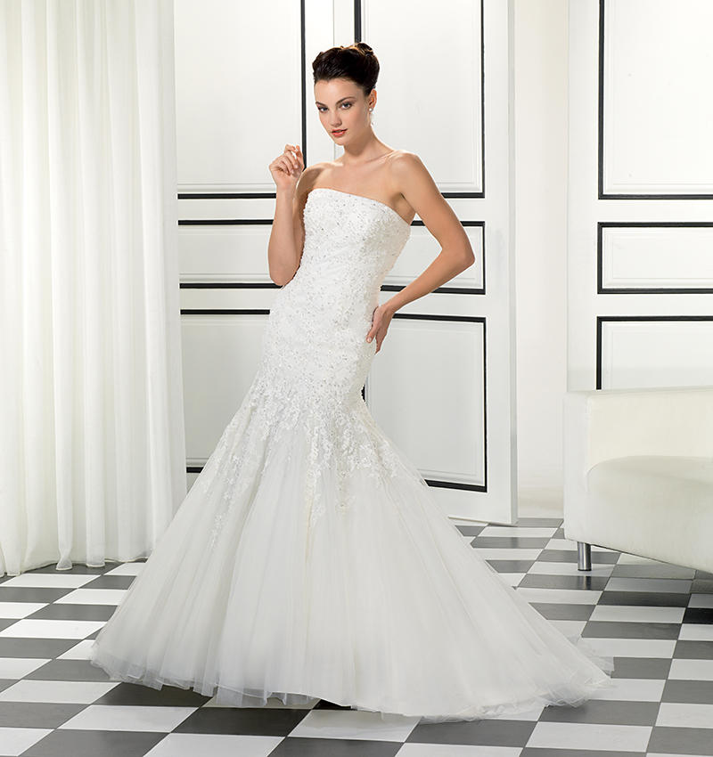 Beaded Corded Lace/Soft Tulle