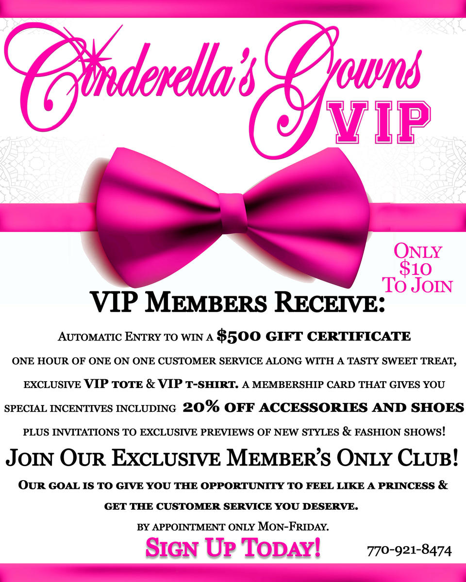 VIP Sign Up 2015