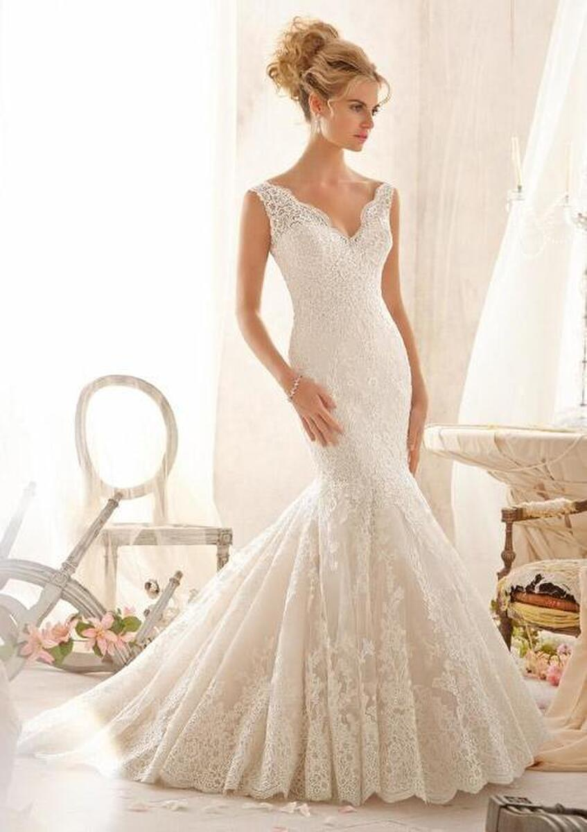 Morilee Champagne Bridal Gown