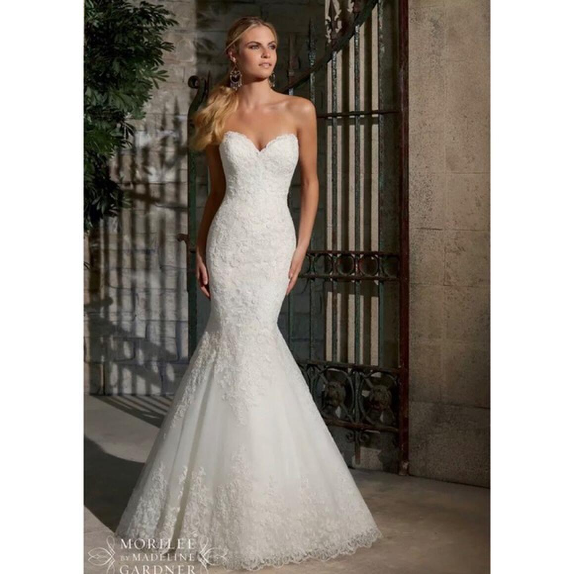 Morilee Bridal Gown Ivory Lace