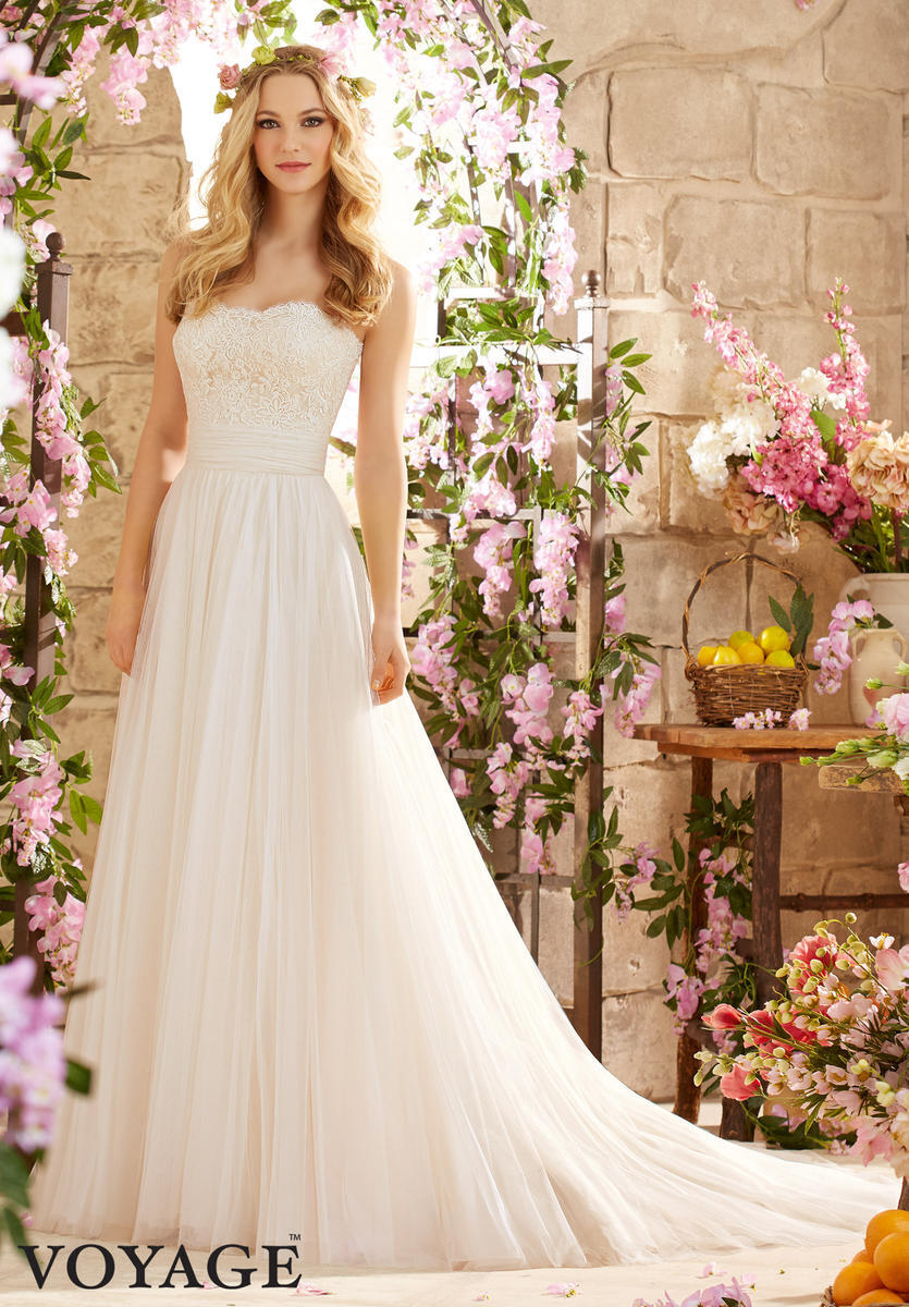 Morilee Bridal Gown Soft Lace on Net