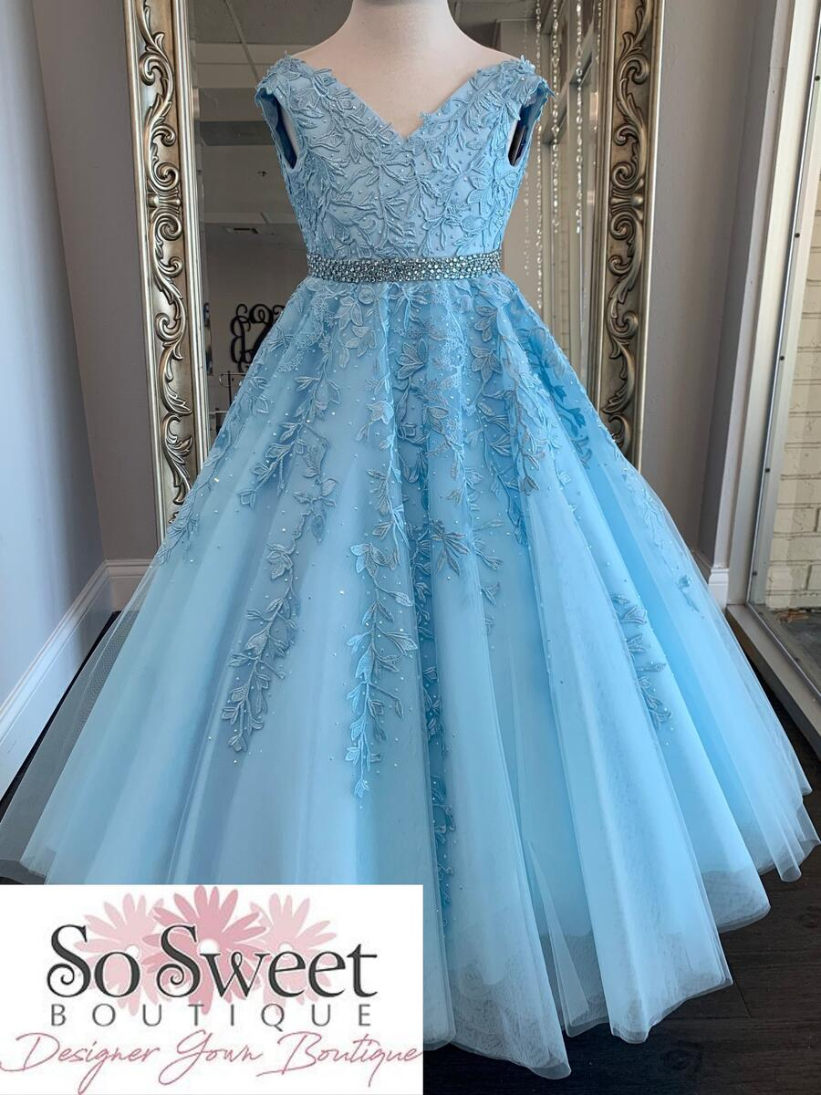 Sherri Hill Littles Pageant Dress